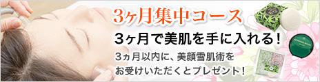 【北原美顔】3ヶ月集中コース